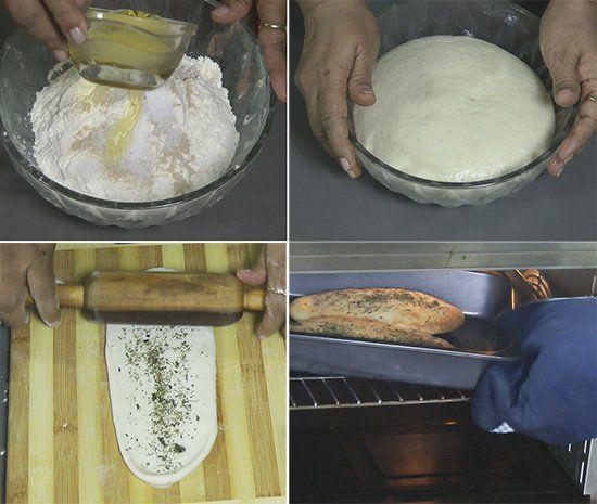 घर में बनाए ब्रेड कुलचा