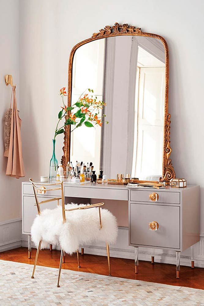 33 Most Amazing Homecoming Makeup Ideas: 33 Most Popular Makeup Vanity Table Designs 2018