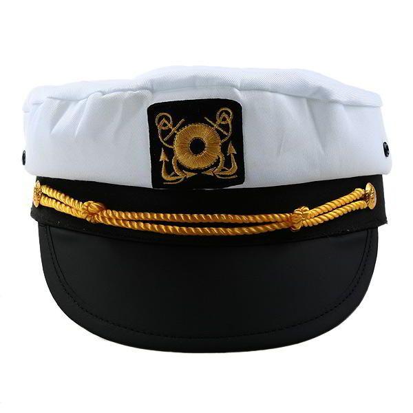 Gorra Capitan Barco Sombrero para Disfraz Marinero Carnaval  0a75cda47d3