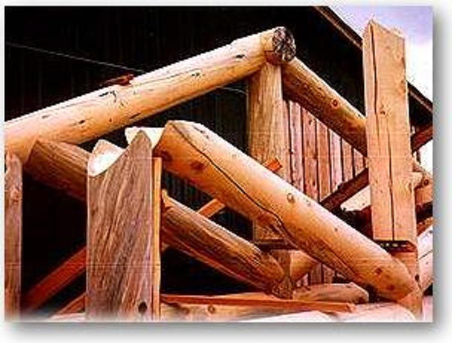 Log Cabin Truss Roof Log Homes Kit Homes Home Construction