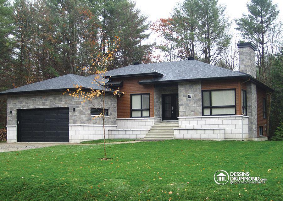 Plan de maison contemporain #inspiration #ideas #dreamhouse Maison - site pour plan de maison