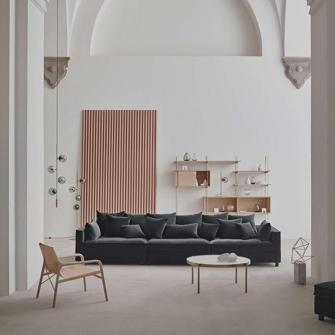 New Scandinavian Design On Instagram Onze Modulaire Banken Worden Gecontroleerd Op Kwaliteit Zodat Ze La In 2020 Country Living Room Woven Dining Chairs Sofa Design