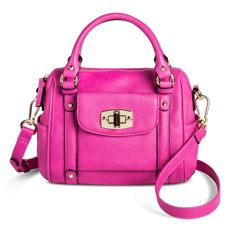 d5d11297f8 Women s Mini Satchel Handbag with Removable Crossbody Strap Pomegranate  Pink - Merona™