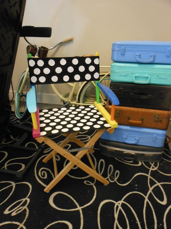 Directors Chair Custom Painted For New Teacher S Classroom