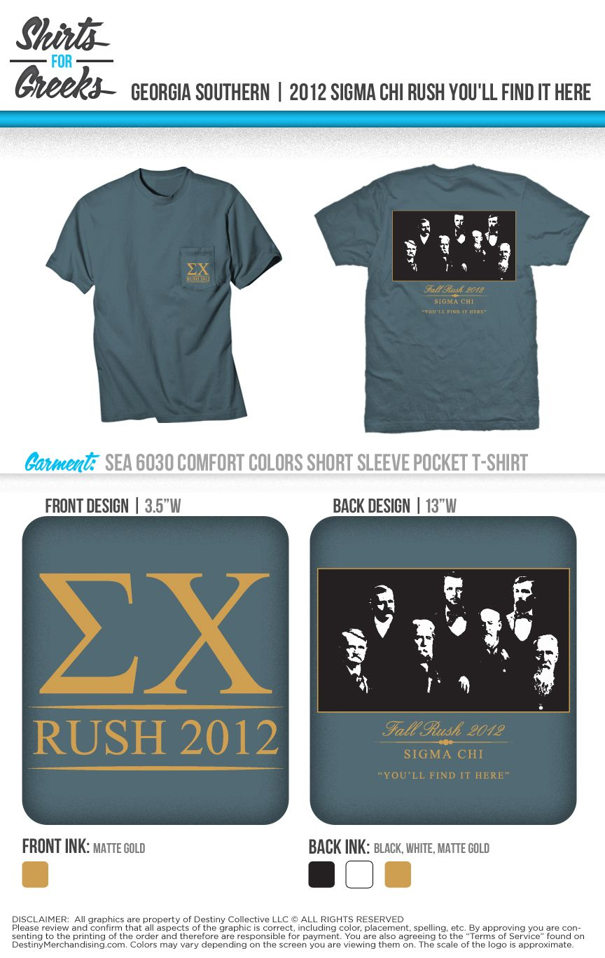 sigma chi | rush | fall recruitment | tshirt ideas | designs | you