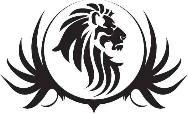 Detroit Lions Logo Stencil Monarch Coffee Logo