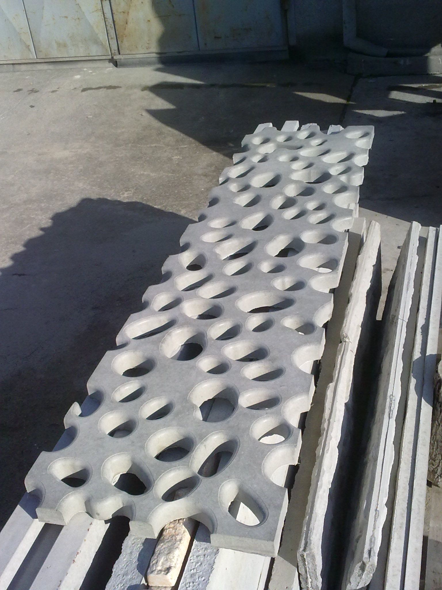 3d lattice panel for outdoor and indoor instalation high - Decorative precast concrete wall panels ...