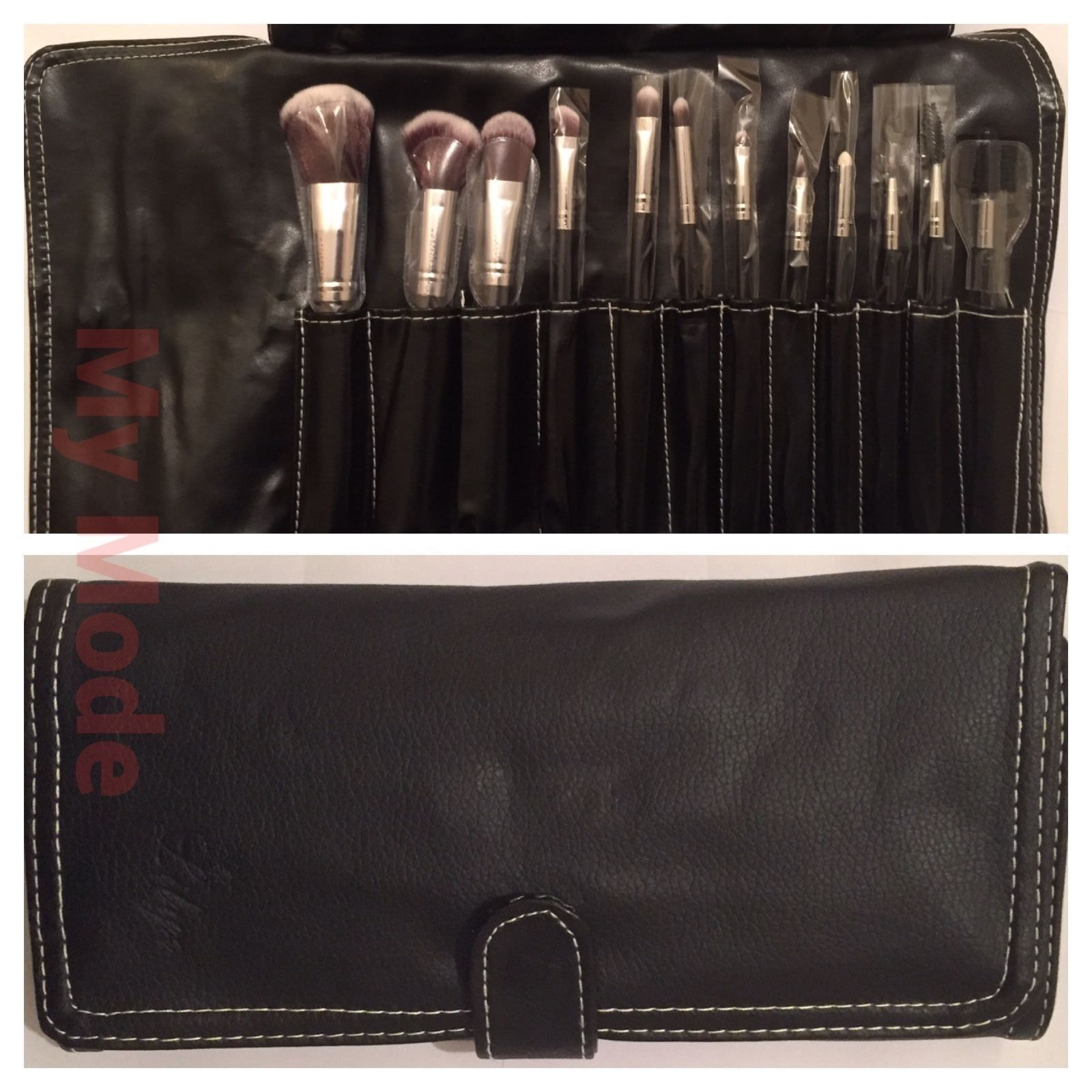 Set of 12 #makeup brushes and travel case face and body #lillyz free #delivery ,  View more on the LINK: http://www.zeppy.io/product/gb/2/262682220036/