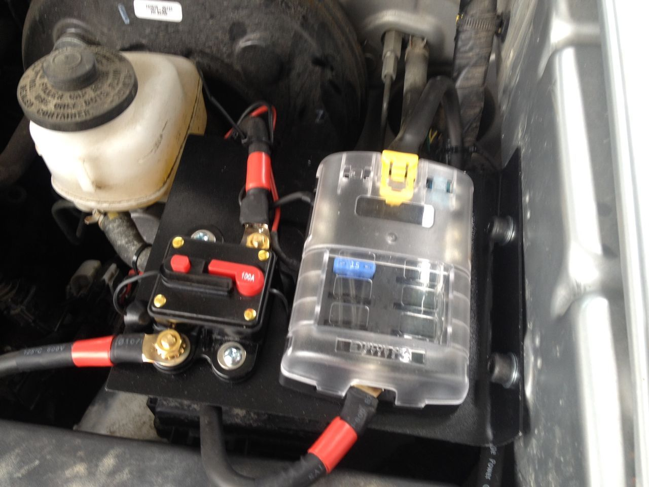 Blue Sea Aux Fuse Block Install Overlanding Pinterest Toyota Honda Pilot Rear Box Tacomaworld