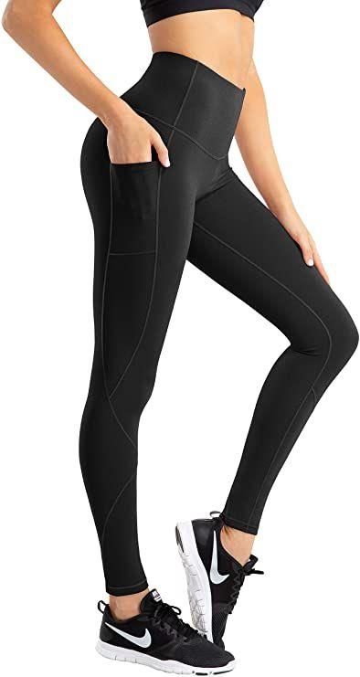 Hofi High Waist Yoga Pants For Women 4 Way Stretch Tummy