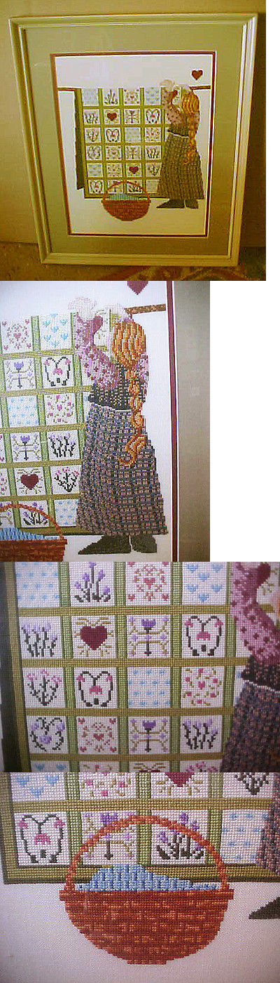 """New completed finished cross stitch""""Running Horses With Wave""""home Decor Gifts"""