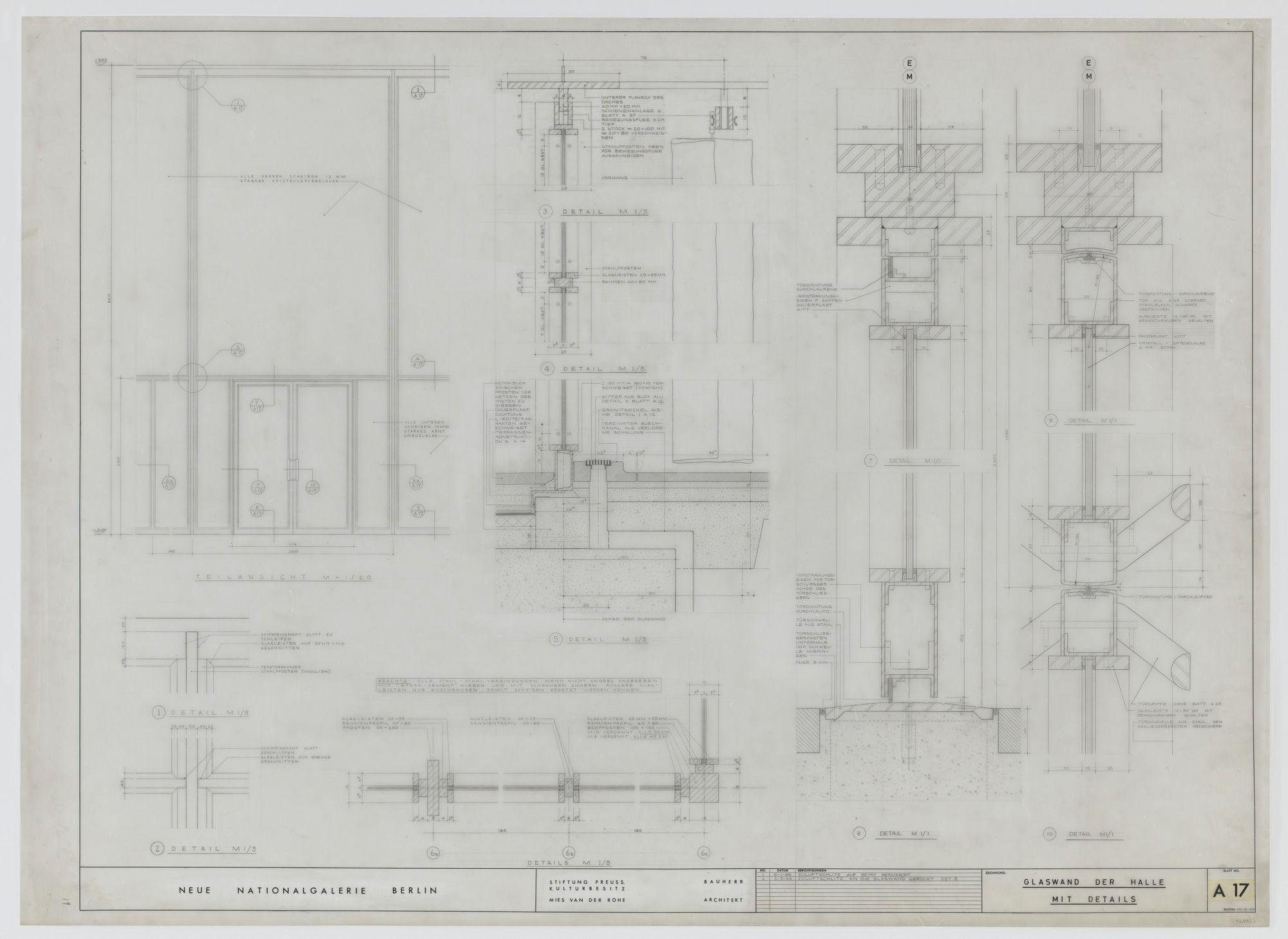 Ludwig Mies Van Der Rohe New National Gallery Berlin