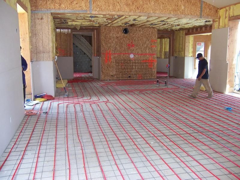 electric radiant heat system