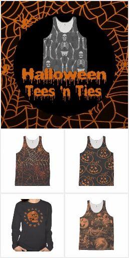 Halloween Tees & Ties
