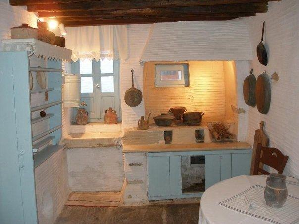 Greek Kitchen Google Search Greek Decor Greek Kitchen Design Greek Homes