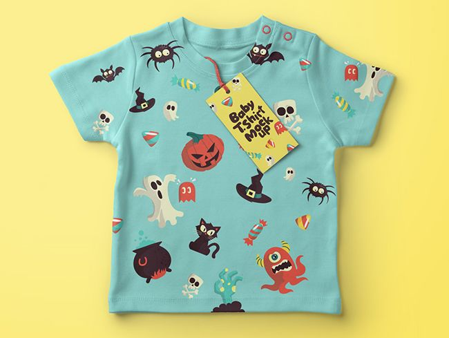 Download Baby T Shirt Mockup Psd Free Download Baby Tshirts Shirt Mockup Clothing Mockup