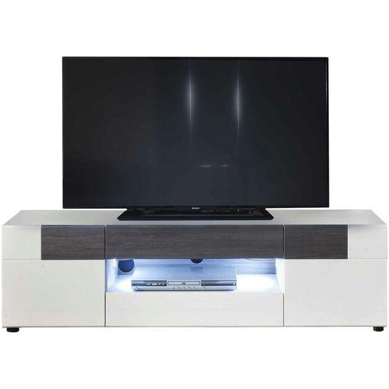 TV-Lowboard | weiß | 153 cm | 43 cm | 44 cm |