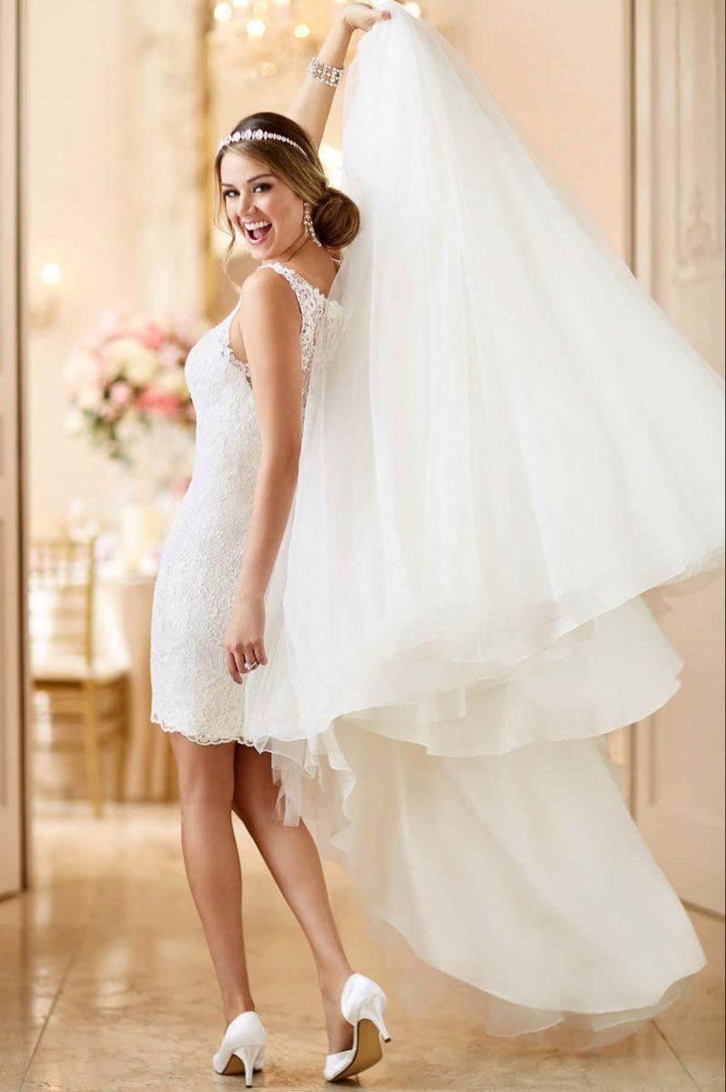 Pin auf Brautkleider, Hochzeitskleider, Zweiteiler