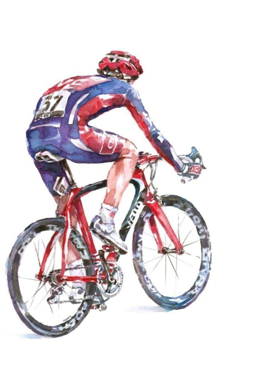 Ride Cycle Cycling Art Bike Art Bike Sketch