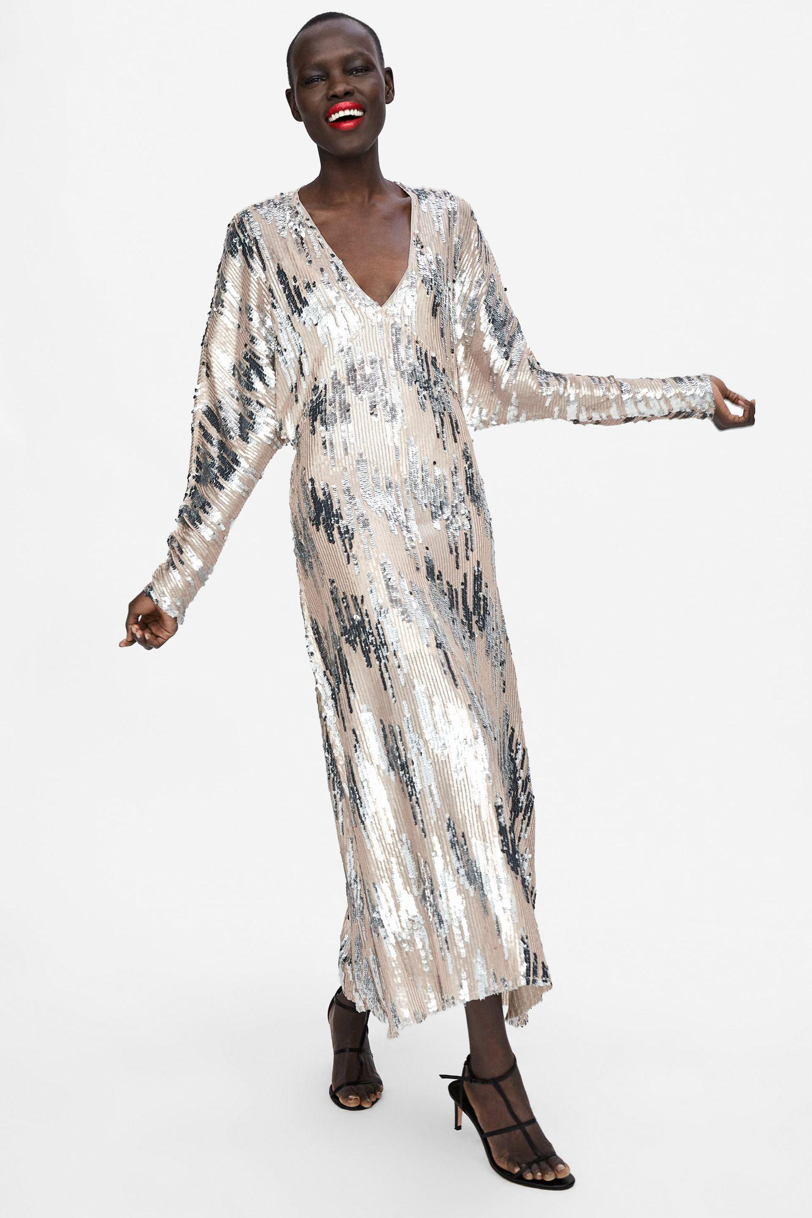 Éste es el vestido de fiesta de Zara que no llegará a Navidad- ElleSpain 532cba805bde
