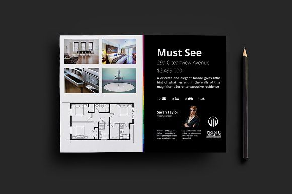 Real Estate Flyer Template By Brandpacks On Creativemarket