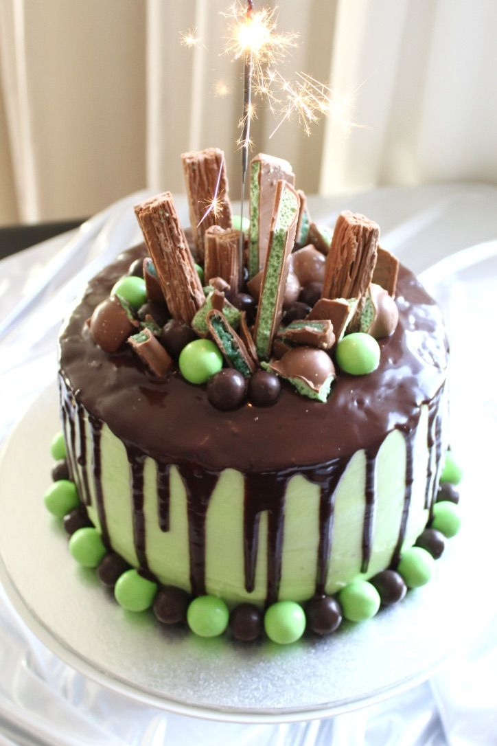 Chocolate Amp Mint Drip Cake 😍 Sweet Tooth Drip Cakes