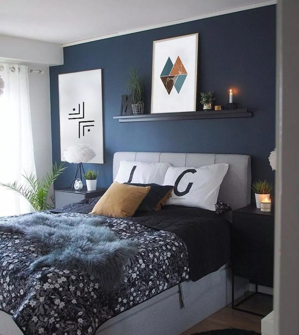 40 Awesome Modern Bedroom Decorating For Your Cozy Bedroom Ideas
