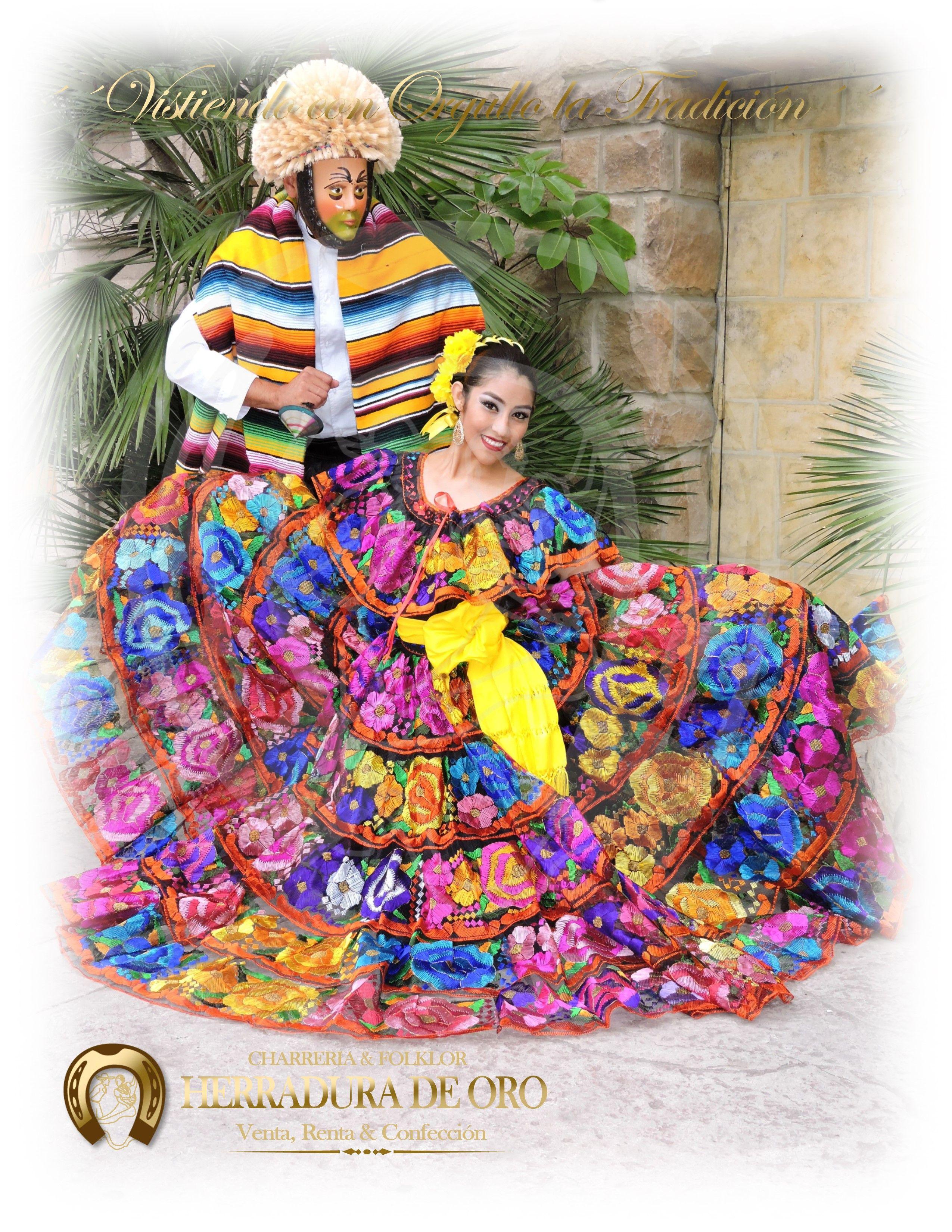 Trajes Tipicos Mexicanos Vestido Tradicional De Chiapas Y