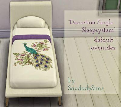 My Sims 4 Blog: Discretion Single Sleepsystem Default Overrides by...