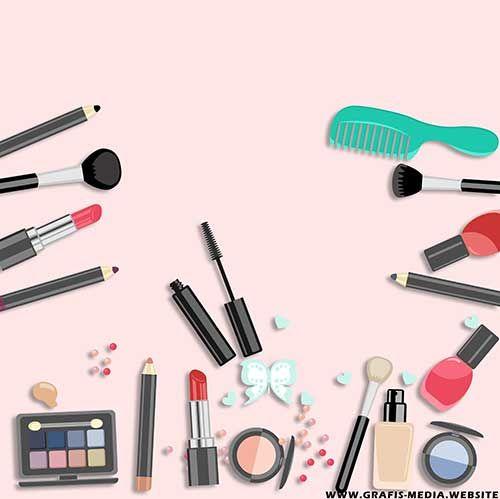 Background Online Shop Kosmetik Kecantikan