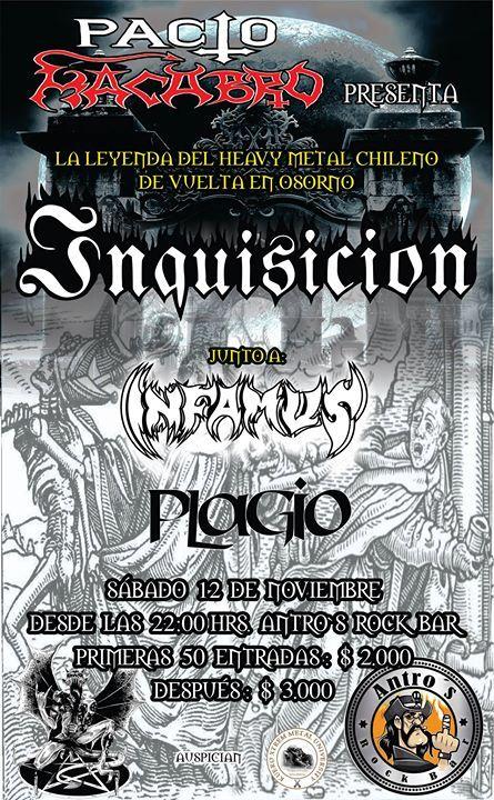 Inquisicion en Osorno 12.11.2016