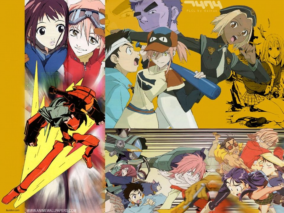 Untitled Wallpaper Flcl, Anime, Wallpaper