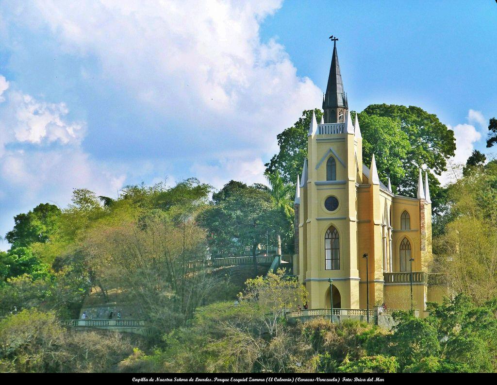 Capilla De Nuestra Señora De Lourdes Parque Ezequiel Zamora El Calvario Caracas Espanha