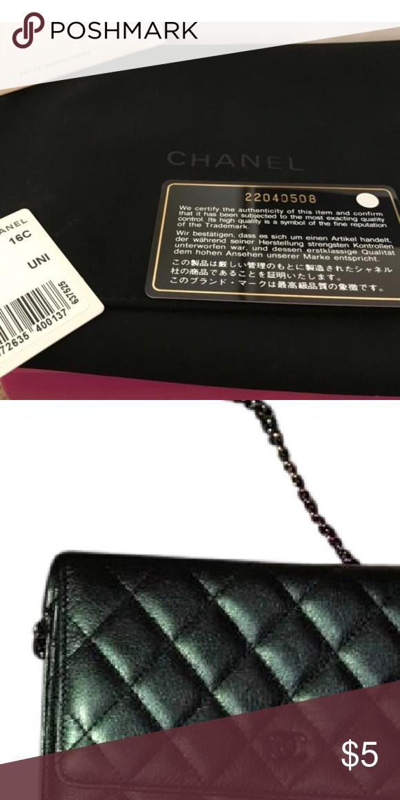 a2f05f9e8a7c 🇮🇪CHANEL 🇮🇪 RAINBOW MERMAID RARE IRIDESCENT Collectors item SS Chanel  season 2016 goatskin