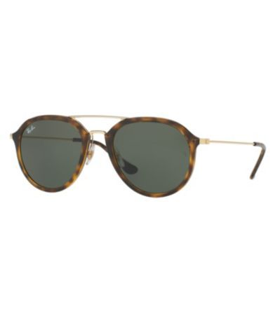 ba9889c7503f Ray-Ban Double-Bridge Tortoise Aviator Sunglasses  Dillards ...