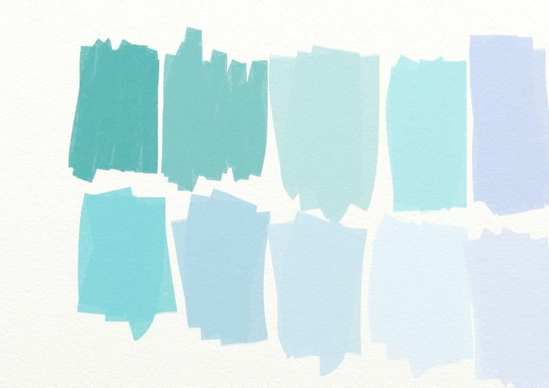 Country Living Blue Color Swatches Paperplayday S Blog