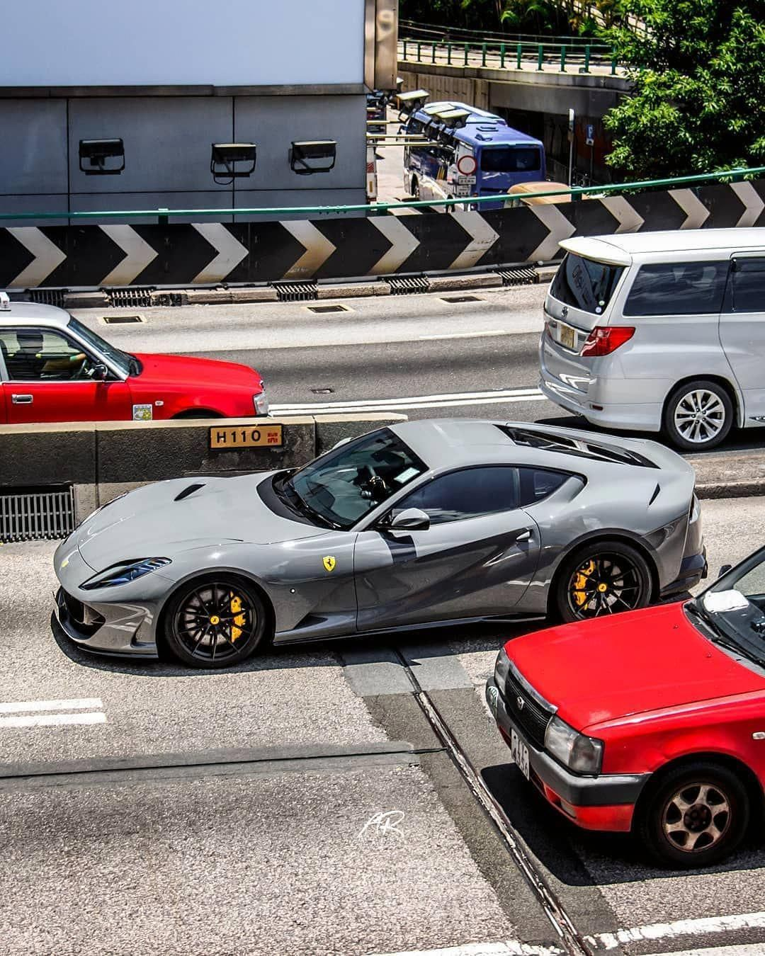 Nardo Grey Ferrari 812 Superfast By Supercarsofhongkong