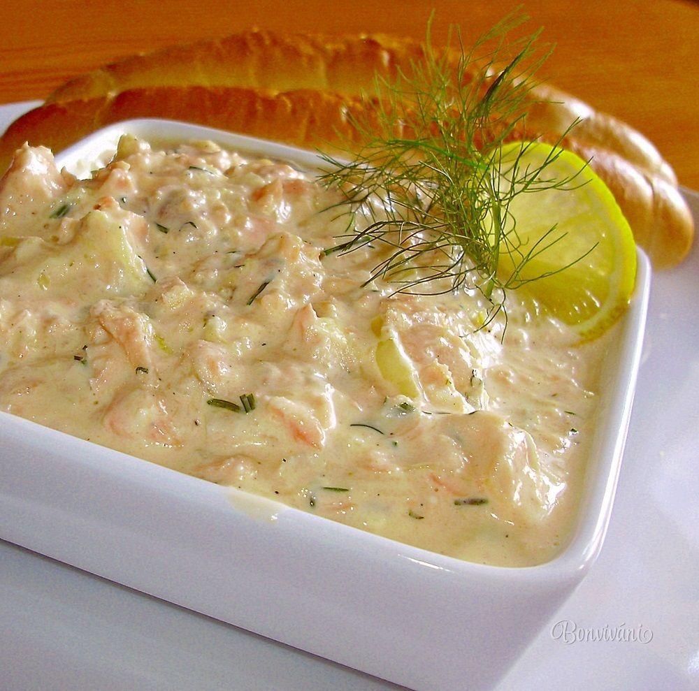Losos v majonéze