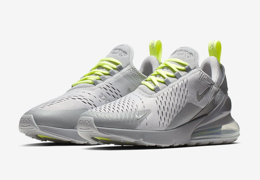 Nike Air Max 270 Wolf Grey Volt CD7337 001 Release Date