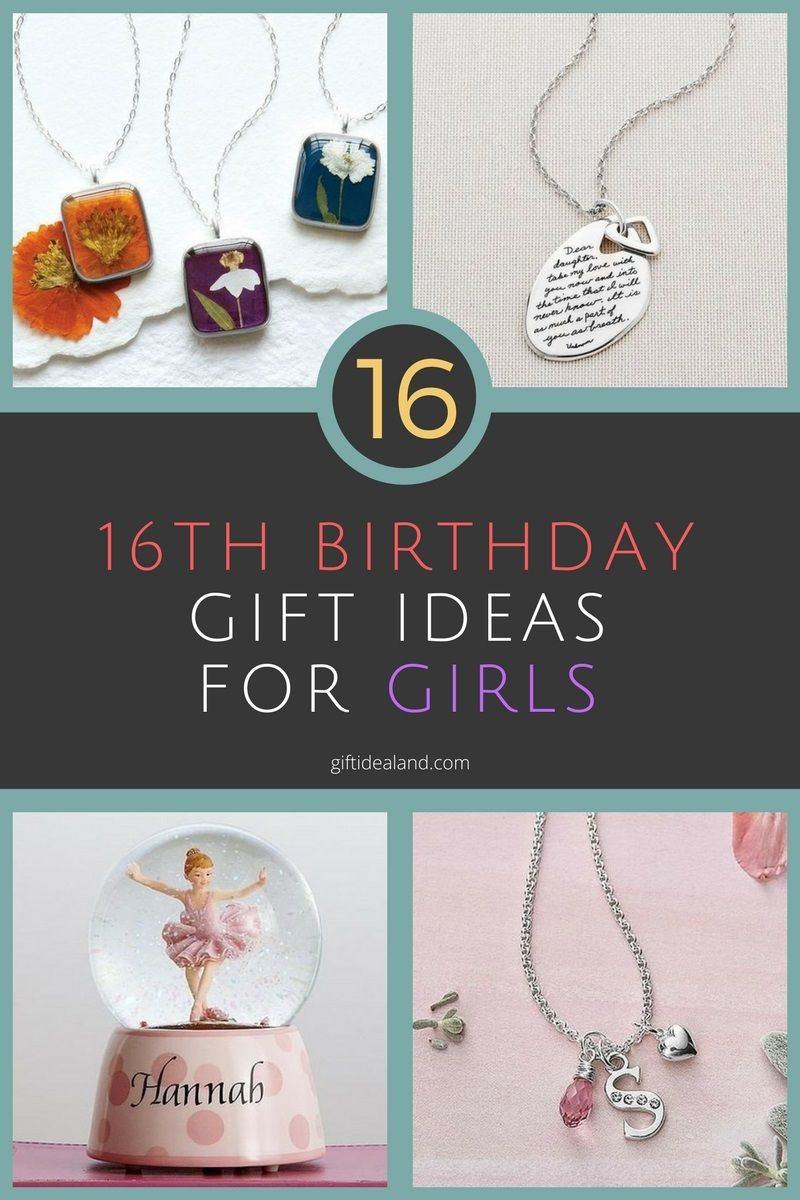 Sweet 16 Birthday Gift Ideas For Girl 16th Girlfriend Gifts Buy Send