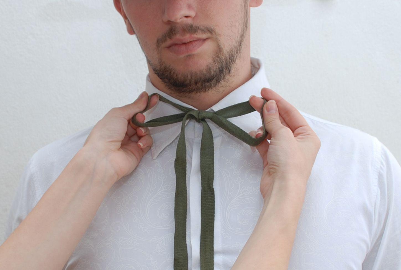 Завязываем короткий галстук фото