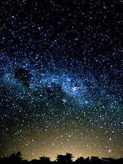 Starry Night Sky Qvga Wallpaper Walltopia Net Starry Night Sky Starry Night Night Skies