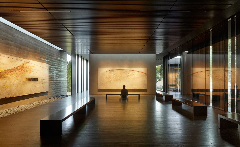 Nathan Oliveira S Windhover Paintings Get A Meditative New Home At