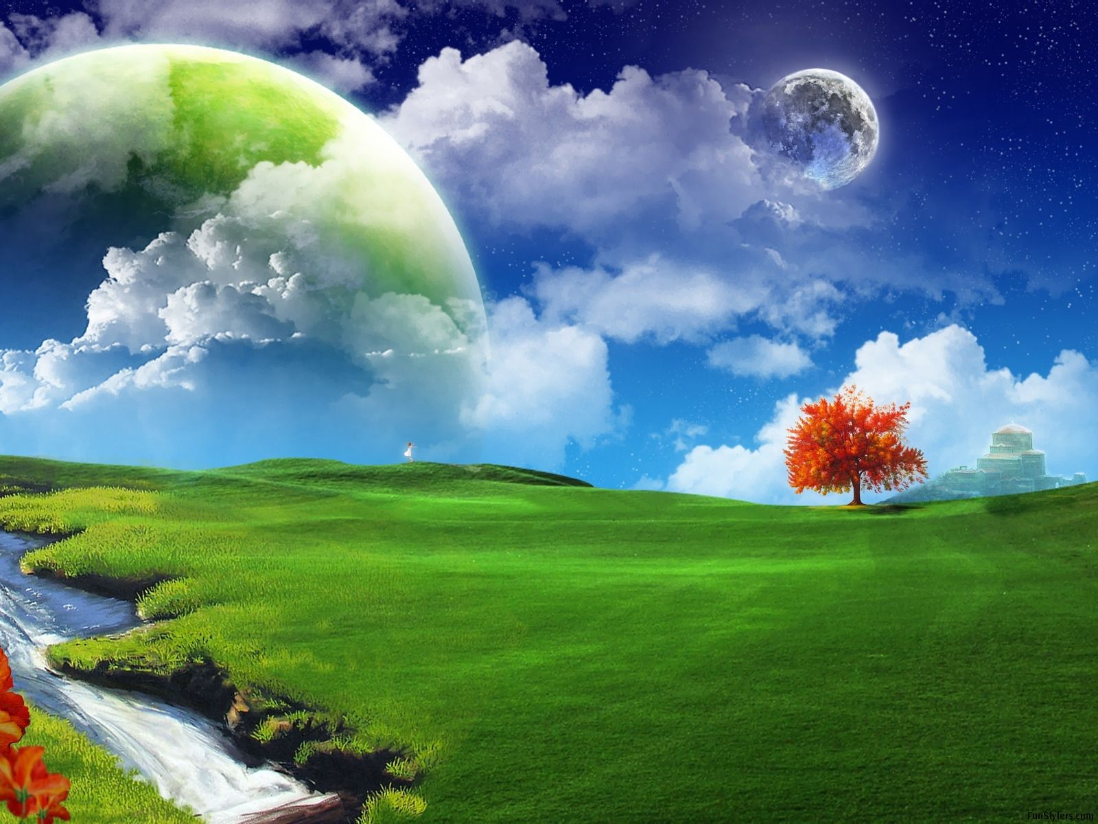 Hd Wallpaper Nature 3d