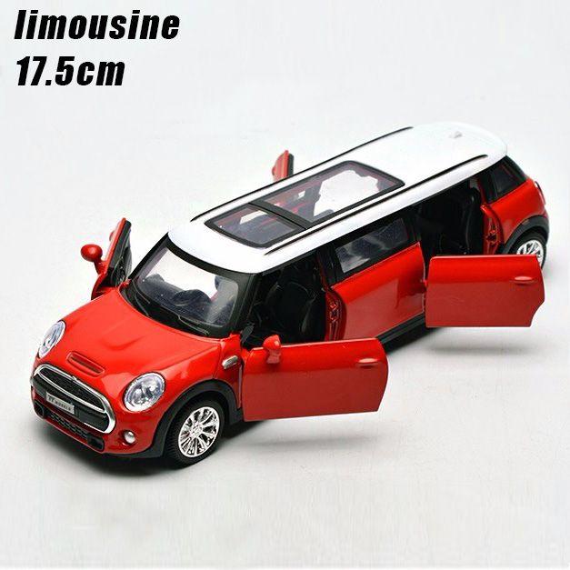 1:32 kinder toys erweiterte limousine metall spielzeug cars modell ziehen auto miniaturen geschenke für jungen kinder