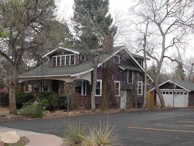 Craftsman Bungalow Colorado Springs Colorado Best Home