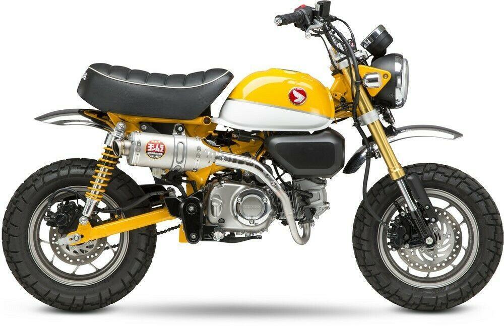 Yoshimura 2019 2020 Honda Monkey 125 Full System Race Exhaust Rs 3 12130a5500 Motorcycle Mirrors Honda Honda Models