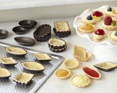 Delightful tartlet pans...so whimsical...serious cooks would play around with these on a rainy day!