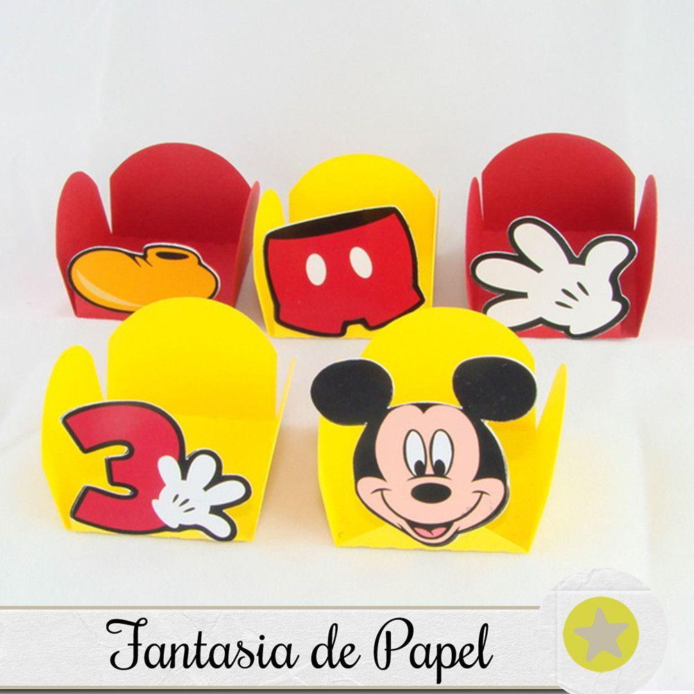 30 FORMINHAS PARA DOCE MICKEY | Mickey | Docinhos do ...