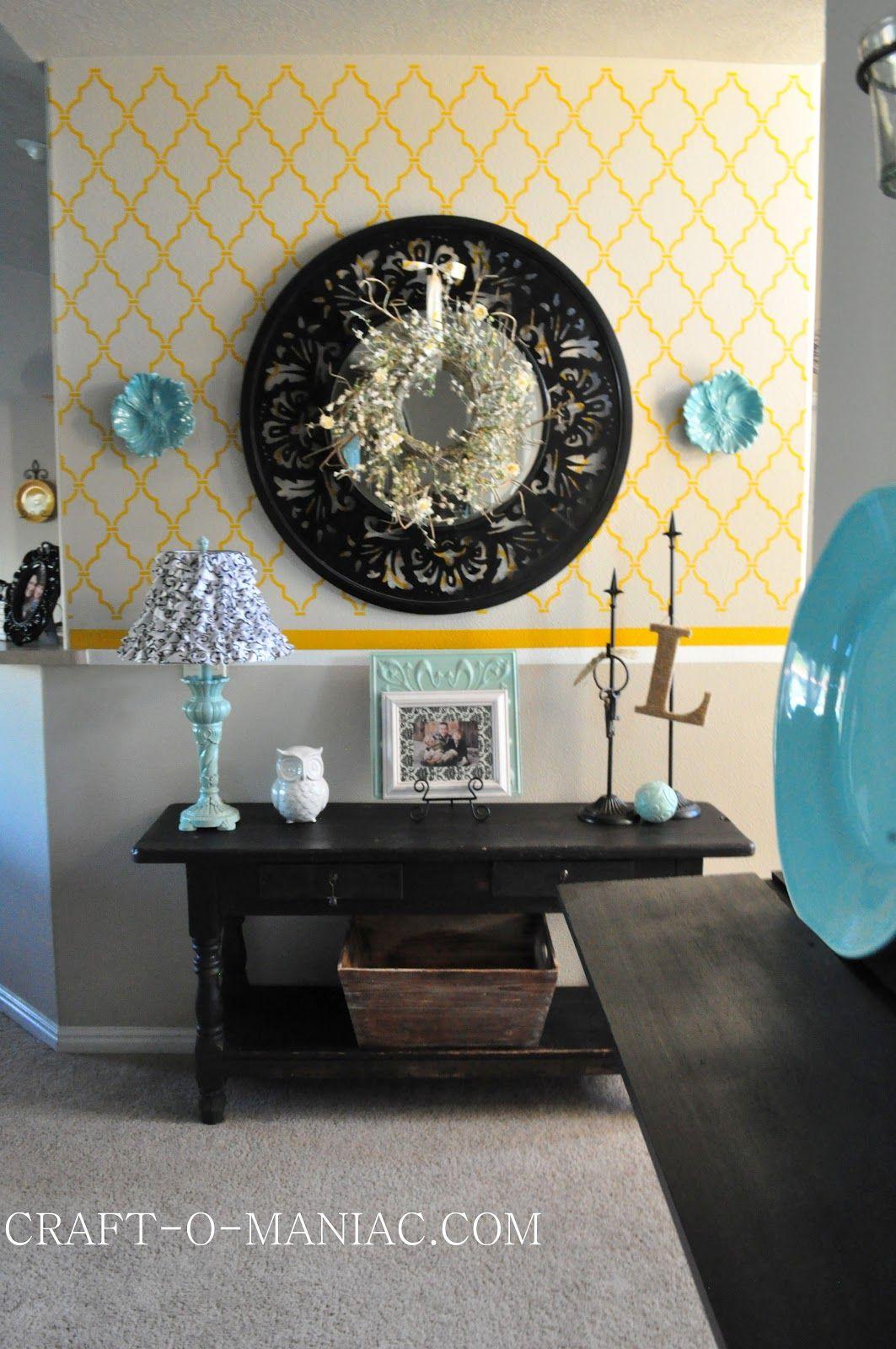 Home Decor New Entry Table From Craigslist Home Decor Home Decor
